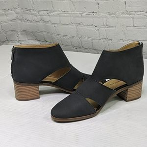 NWOT Lucky brand Ralwan cutout ankle bootie